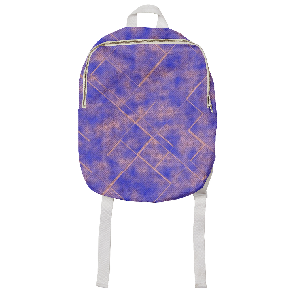 Sky Tiles Kid's Backpack by Issy Dear
