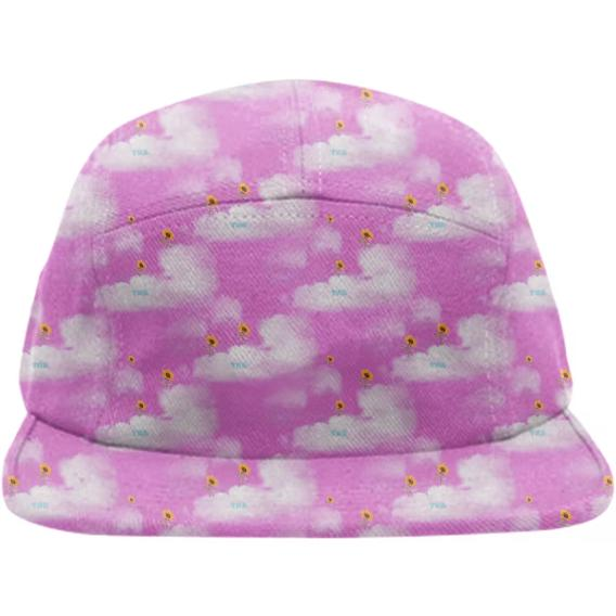 TNB SunFlower Cloud 5 Panel Pink