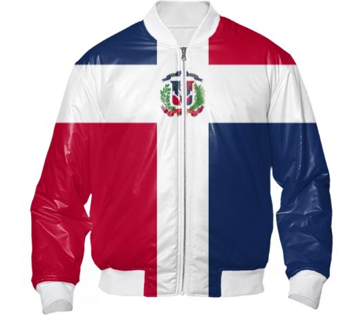 Dominican Republic Flag Bomber Jacket