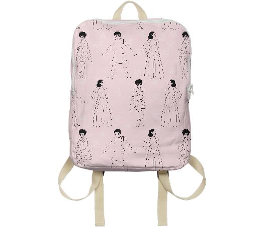 PAOM, Print All Over Me, digital print, design, fashion, style, collaboration, luisa-castellanos, luisa castellanos, Backpack, Backpack, Backpack, 60s, Ladies, autumn winter spring summer, unisex, Poly, Bags