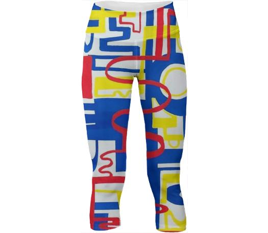 Primary Slalom Yoga Pants