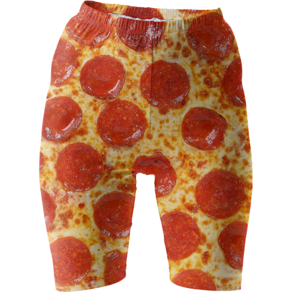 Pizza bike shorts