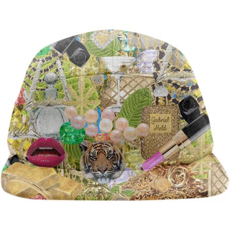 PAOM, Print All Over Me, digital print, design, fashion, style, collaboration, gabrielheld, Baseball Hat, Baseball-Hat, BaseballHat, Gabriel, Held, Collage, Print, spring summer, unisex, Poly, Accessories
