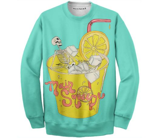 MAIN SQUEEZE CREW NECK SWEATSHIRT
