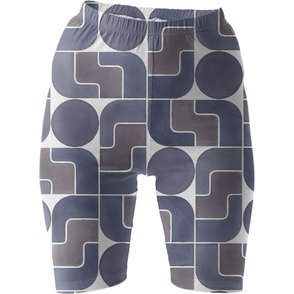 Monte Albán Mod bike shorts by Frank-Joseph