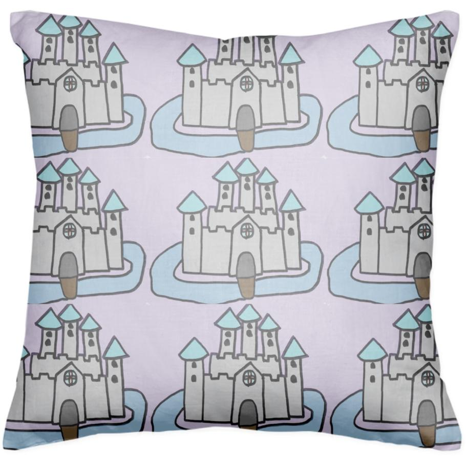 The Castle I Made For Class Multiplied Pillow
