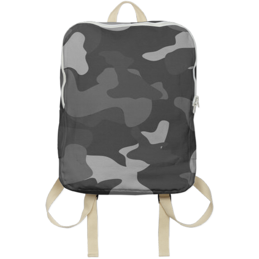 army texture design on back  bags