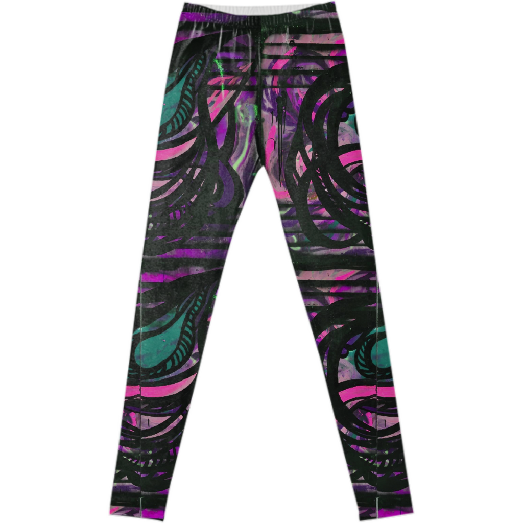 Bold Abstract Leggings