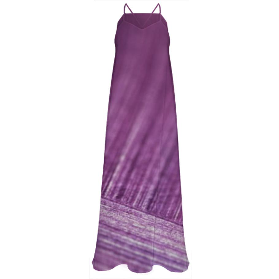Luxury Designers artistic Purple magical Dress