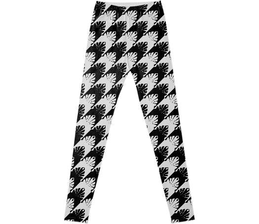 Unique Black White Hounds Tooth
