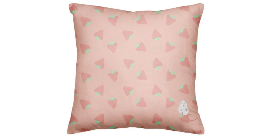 Strawberry Rat Pillow