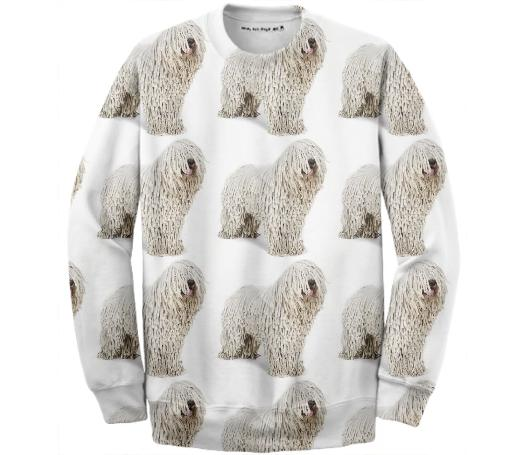 Komondor Mop Dog Sweatshirt