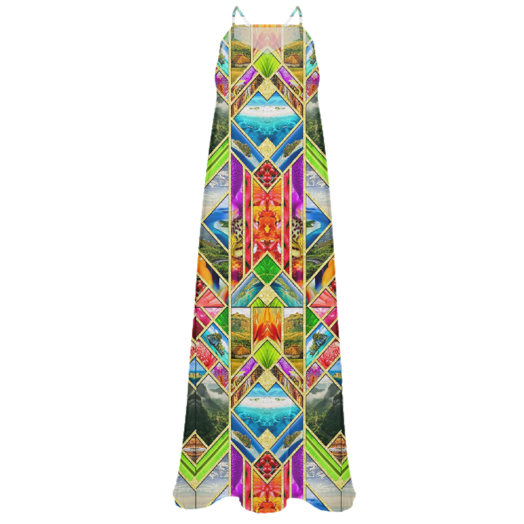PAOM, Print All Over Me, digital print, design, fashion, style, collaboration, babyboofiji, Chiffon Maxi Dress, Chiffon-Maxi-Dress, ChiffonMaxiDress, Feel, Fiji, autumn winter spring summer, unisex, Poly, Dresses