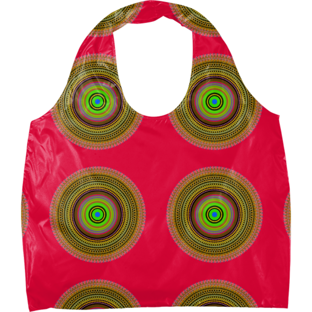 SPIRAL PINK TOTE