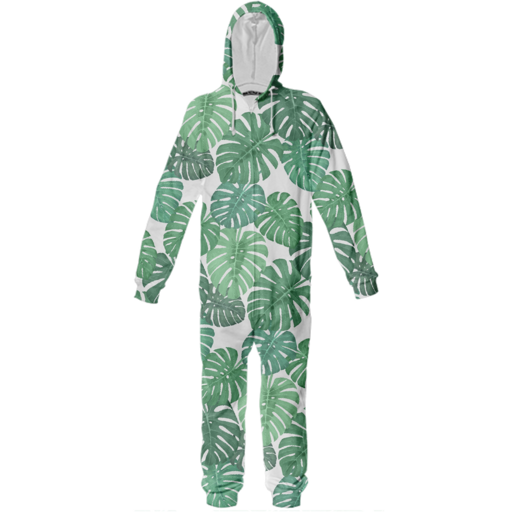 Monstera Jungle Onesie by Frank-Joseph