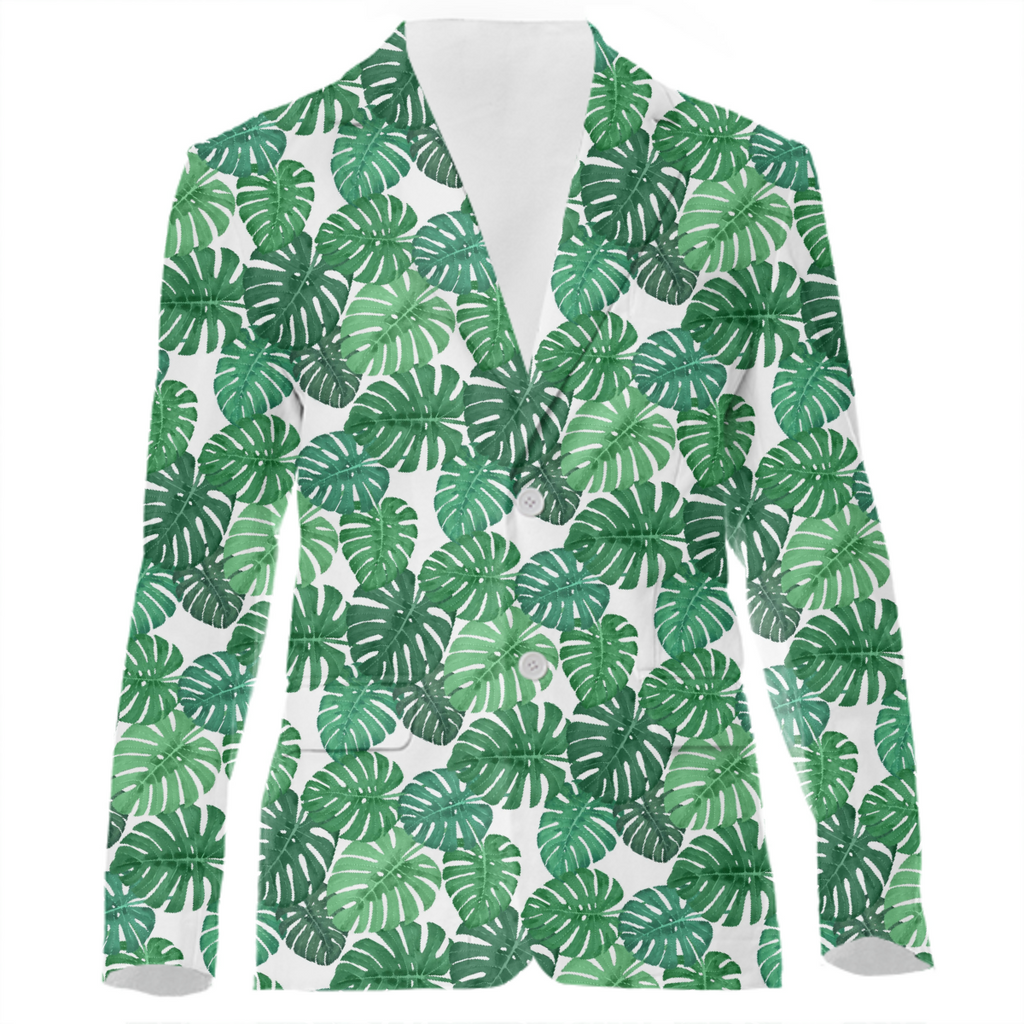 Monstera Jungle Suit Jacket by Frank-Joseph