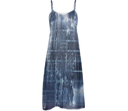 GRLZ SLIP DRESS in RIPPLE