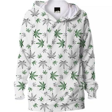 Weed Illustrated Hoodie