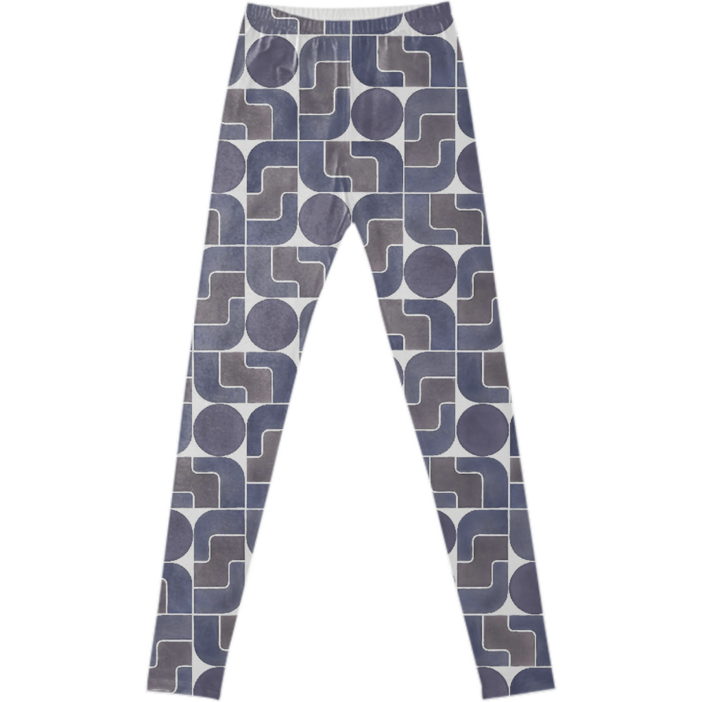 Monte Albán Mod fancy leggings by Frank-Joseph