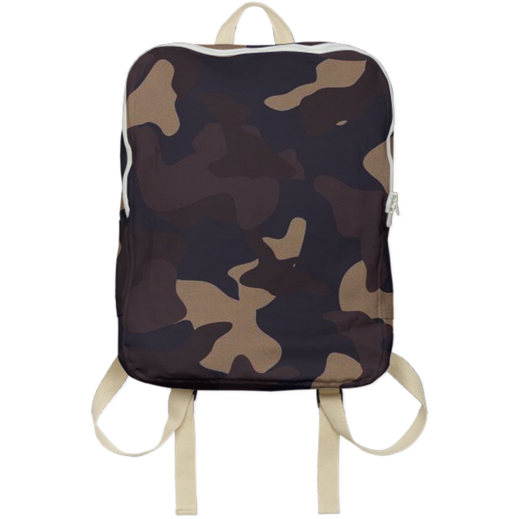 army texture design on bags