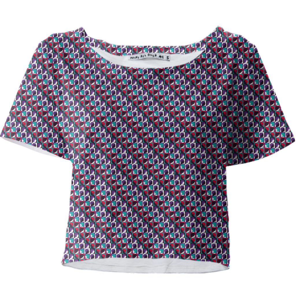 Mosaic Crop Top