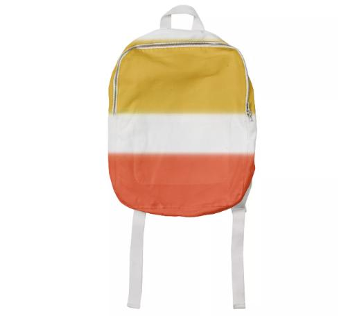 Orange And Yellow Bold Stripe Kid Pack