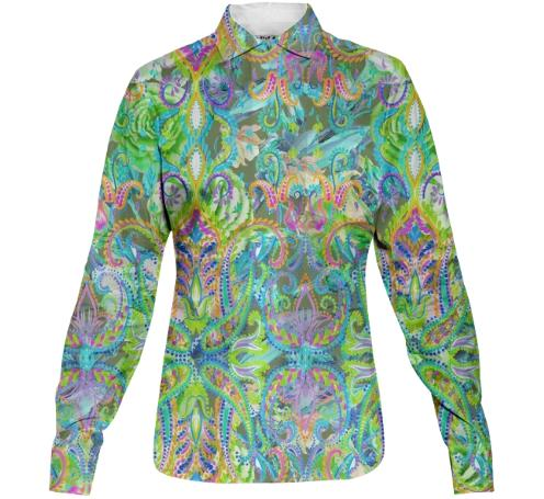 PatriciaAnn Brubaker Demure Buttondown Shirt