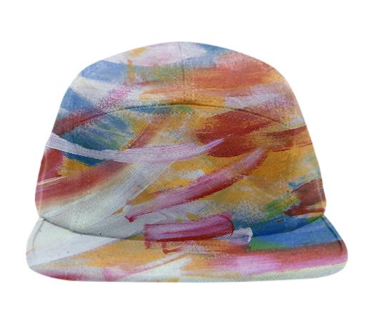 Colorful Streaks Baseball Hat