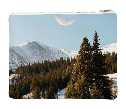 Daylight Moon Neoprene Clutch