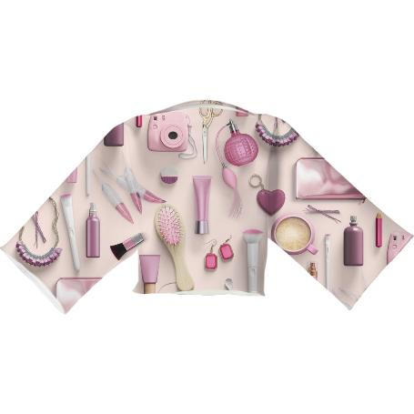 Pink Vanity Table Neoprene Top