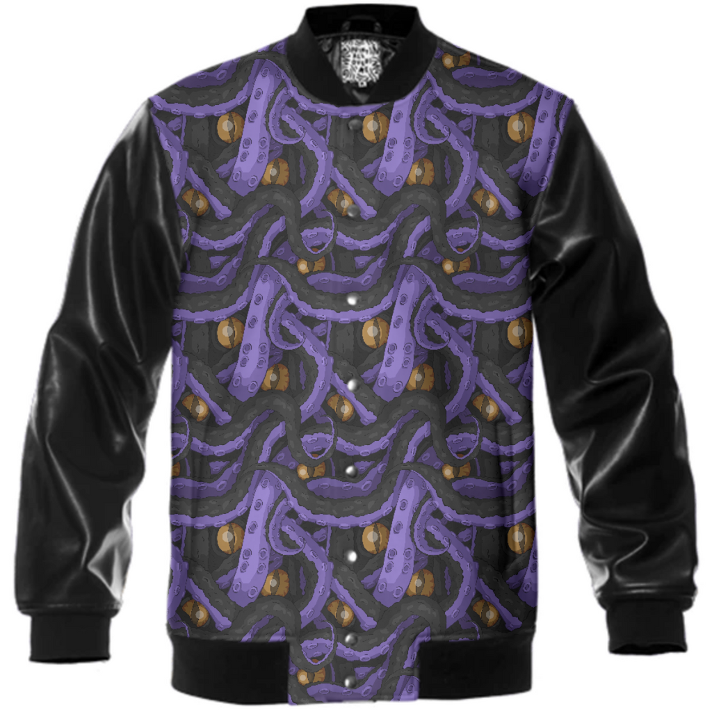 Kracken Tentacle Varsity Jacket