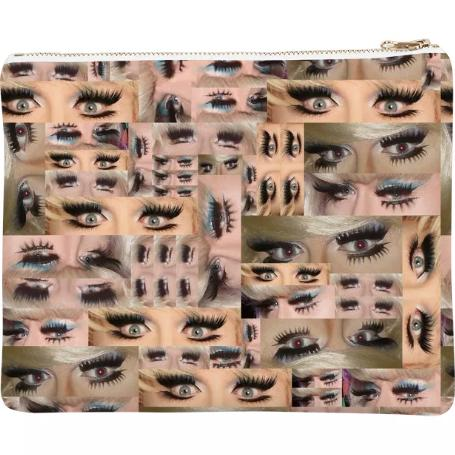 PAOM, Print All Over Me, digital print, design, fashion, style, collaboration, nada-x-paom, nada x paom, Neoprene Clutch, Neoprene-Clutch, NeopreneClutch, Lady, Bunny, for, Contemporary, Drag, Curated, Gordon, Robichaux, autumn winter spring summer, unisex, Neoprene, Bags