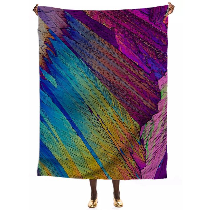 Parrot Feathers Crystal VP Scarf