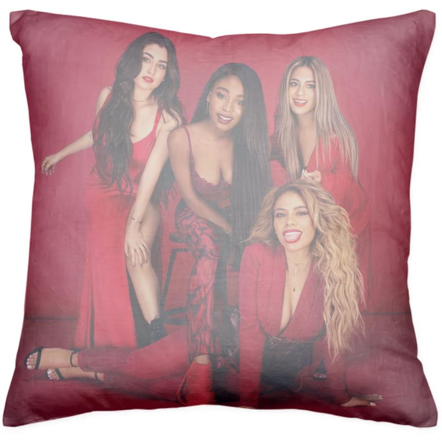 fifth harmony rebirth pillow design