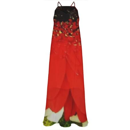Bold Flowers Maxi Dress