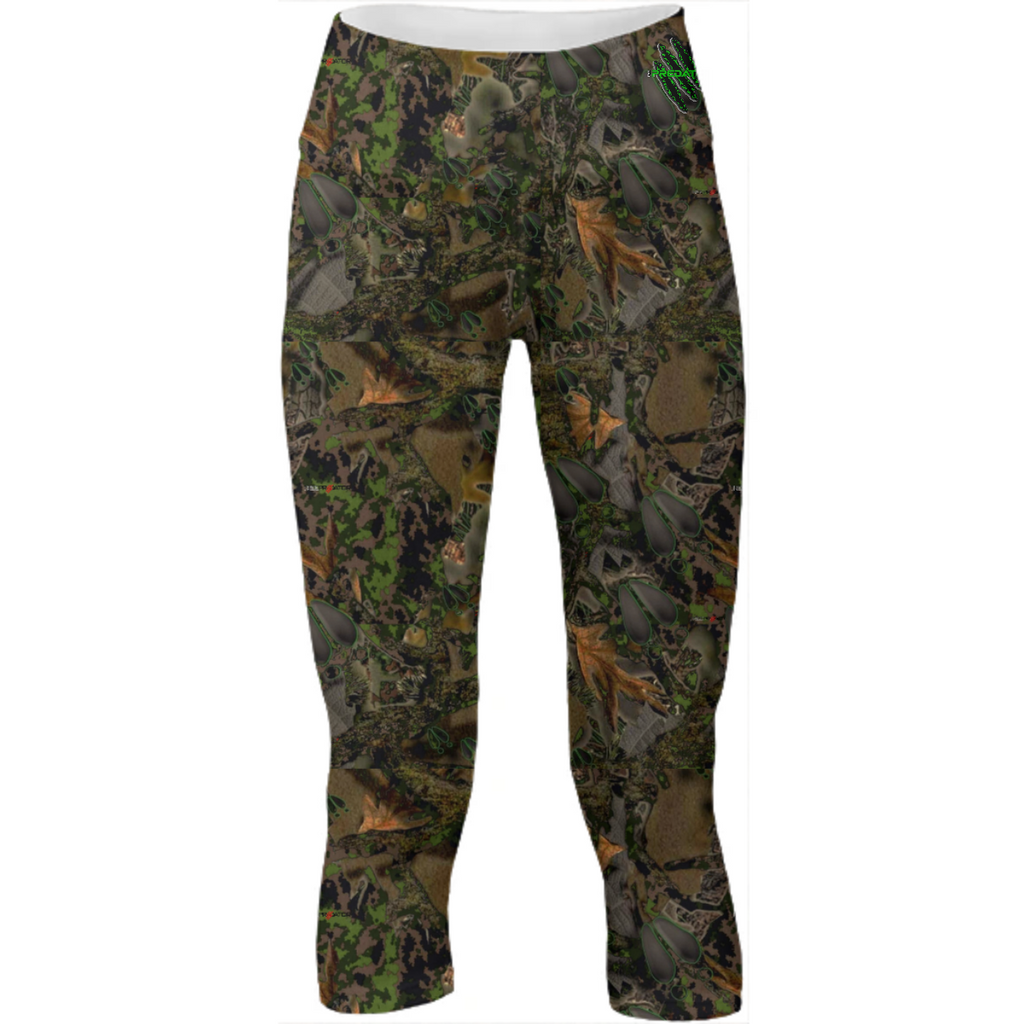 Kloak series camo Yoga pants