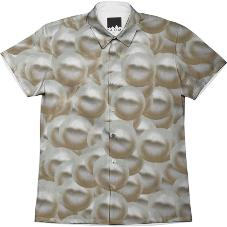 PERLE Pearl Collared Shirt