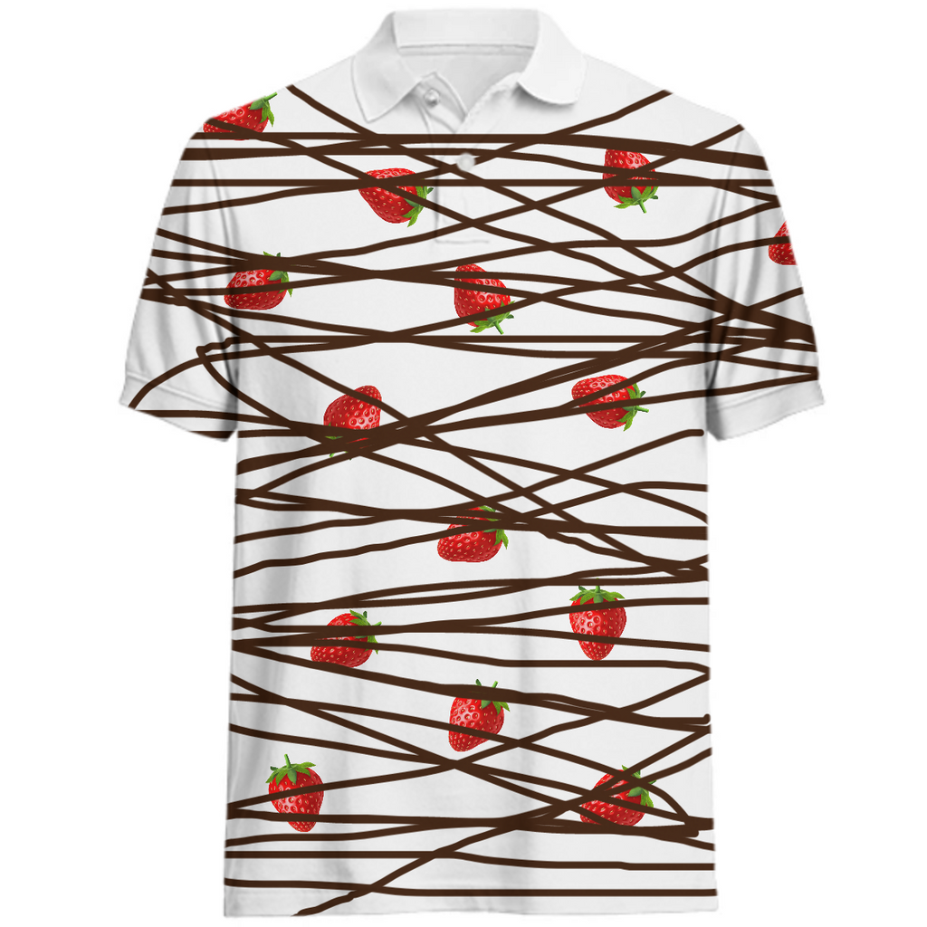 Chocolate Covered Strawberrys Polo