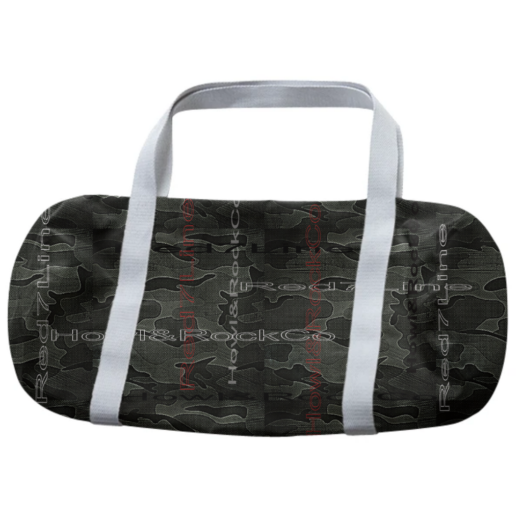 RED 7 CAMO DUFFLE BAG