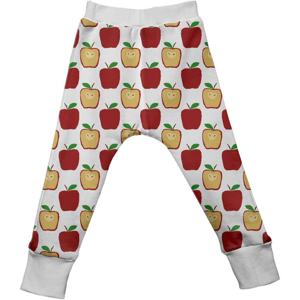 Apple Polkadots Kids Drop Pants
