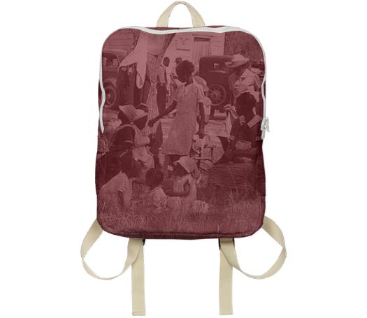 4th of July Simple Backpack
