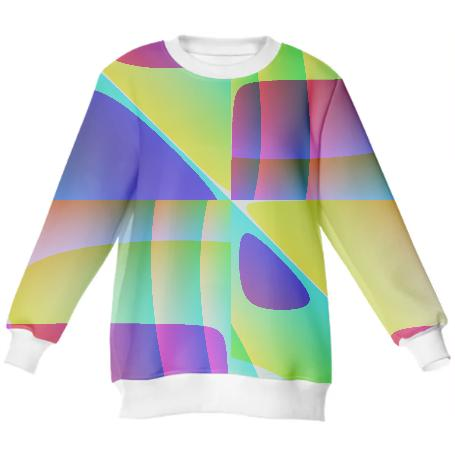 Abstract Geometry Sweatshirt