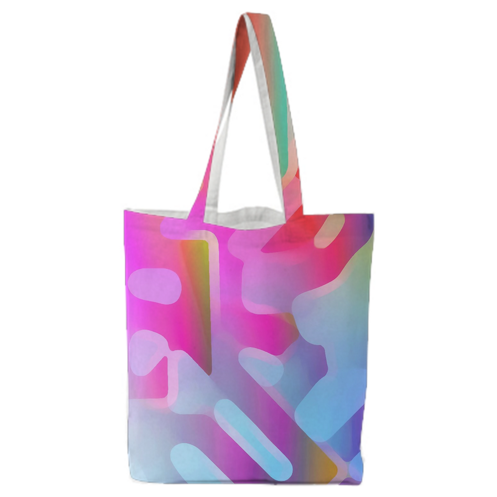 Color Blotch tote