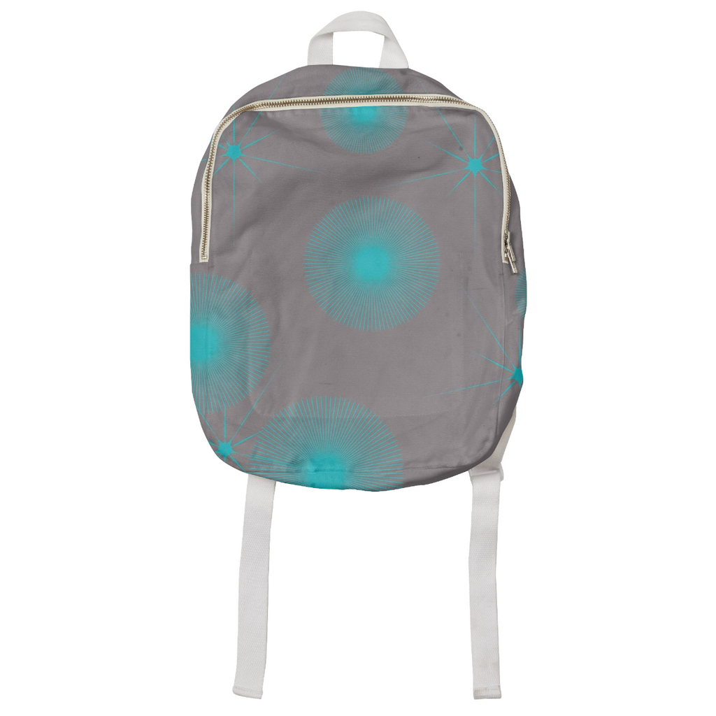 Blue Stars Explosion Kids Backpack