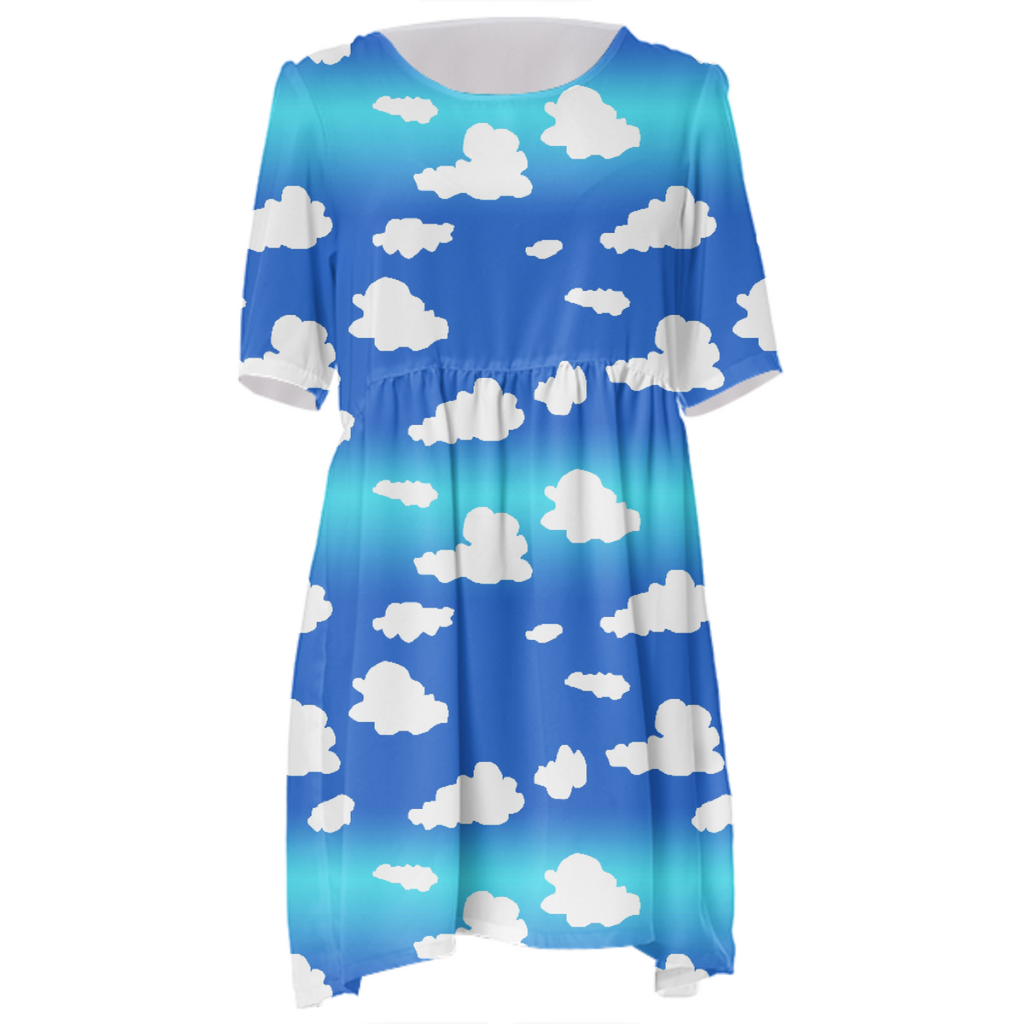 Clouds Babydoll Dress