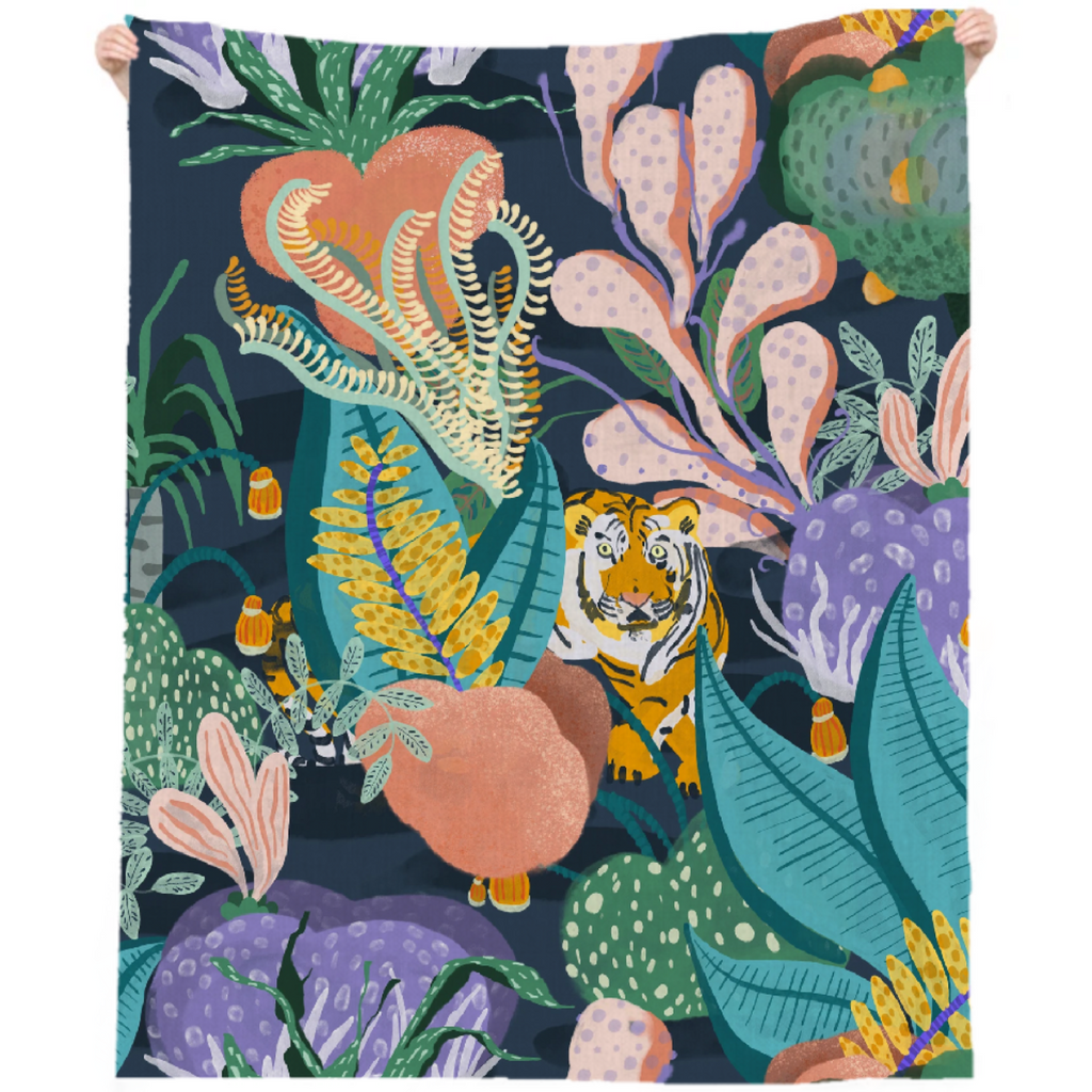 TIGER REEF BEACH THROW