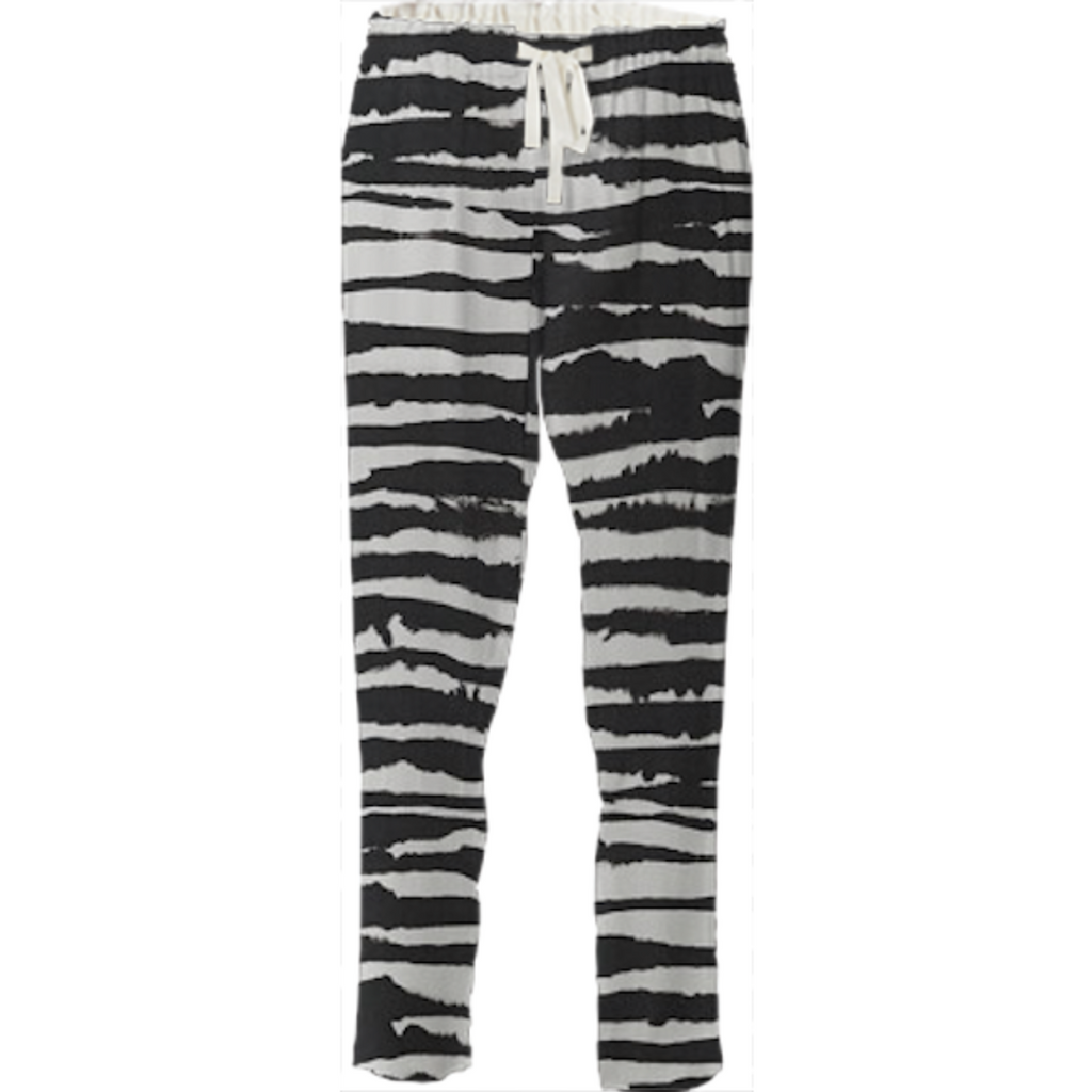 @benja1of1 - custom zebra pants!