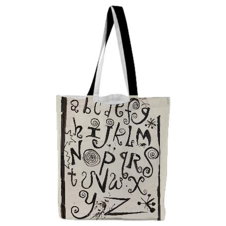 PAOM, Print All Over Me, digital print, design, fashion, style, collaboration, nada-x-paom, nada x paom, Tote Bag, Tote-Bag, ToteBag, Tabboo, for, Contemporary, Drag, Curated, Gordon, Robichaux, autumn winter spring summer, unisex, Poly, Bags