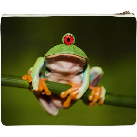 Funny Conceptual Cyclopic Frog Clutch