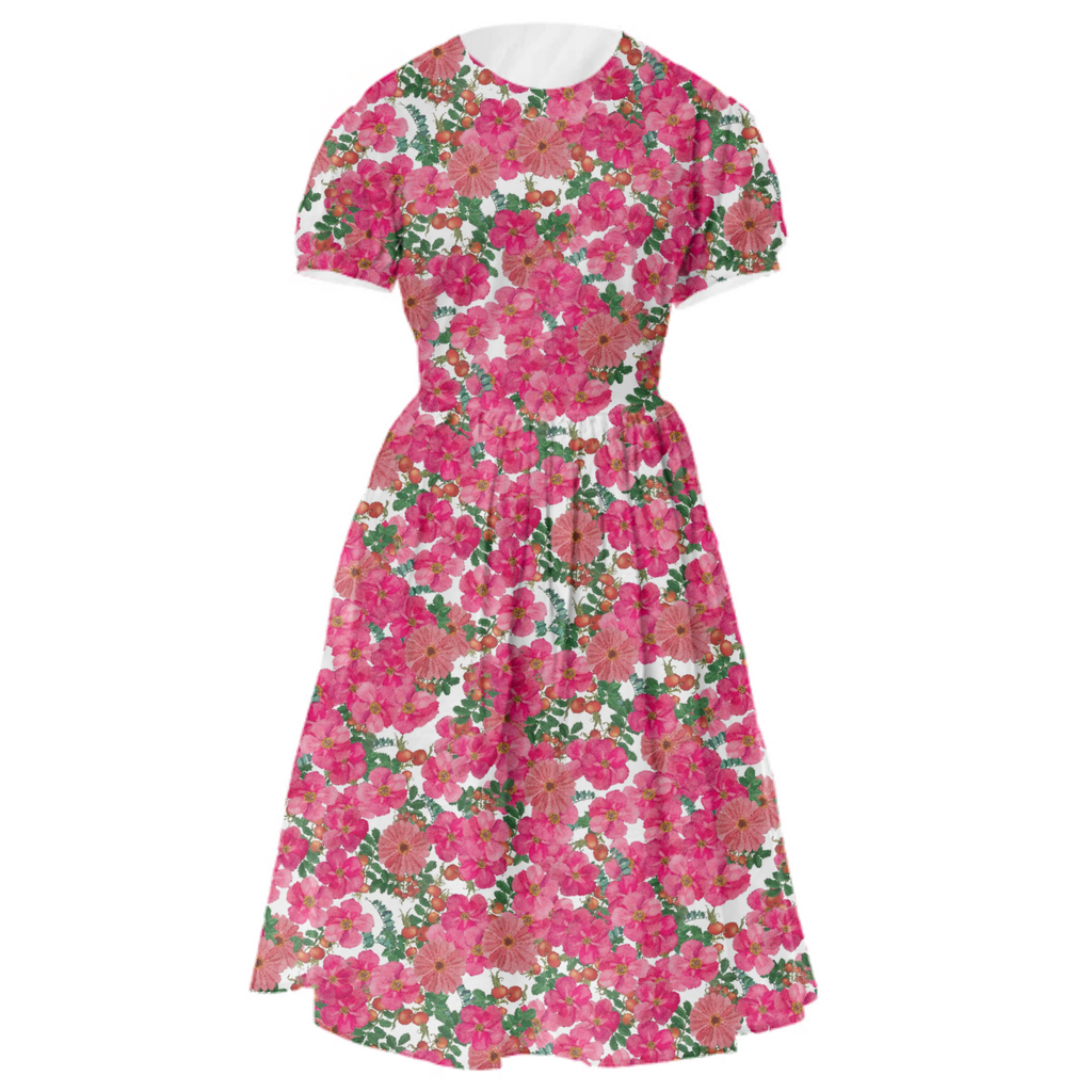 wild rose floralia drndl dress